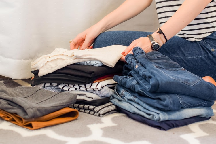 decluttering cleaning process